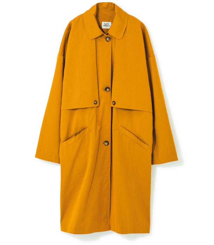 スプリングコート ¥45,000(スージー ウィンクル/ジャーナル スタンダードレサージュ 銀座店☎03・5524・2200)