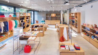 中川政七商店 表参道店創業300年の老舗、表参道に初の路面店。