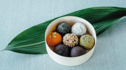 FOOD NEWS vol. 102 chicoのお菓子な宝物。『タケノとおはぎ』のおはぎ