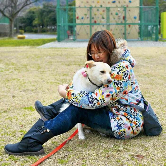 いつも吉増さんと一緒。ブログ「もか吉ゆったり日記」(ameblo.jp/moca-eri0420/)も人気。