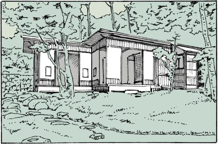 室生犀星の軽井沢の別荘