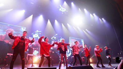 Hanako K-Diary韓国HIPHOP界の熱気をライブで再現。Block B、東京国際フォーラム2daysを開催