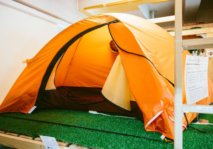 浅草・隅田川沿いでテントと寝袋でキャンプ!? いったいどんな場所か訪ねてみました!