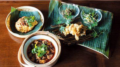 FOOD NEWS vol.108 犬養裕美子の今日、どこで何、食べる? 『蓮香(れんしゃん)』の中国辺境料理コース
