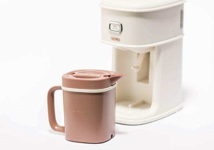 サーモス アイスコーヒーメーカー オープン価格。問サーモスお客様相談室 ☎0570・066966