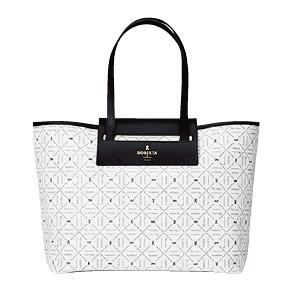 夏らしい爽やかなカラーのバッグ「アドリア」4万2000円。
