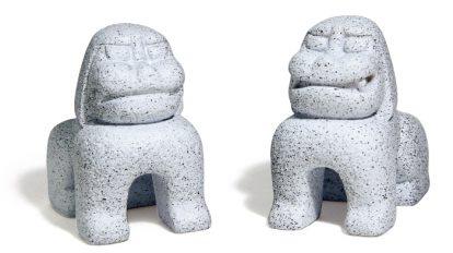 みやげもんコレクション 232 赤城神社の狛犬