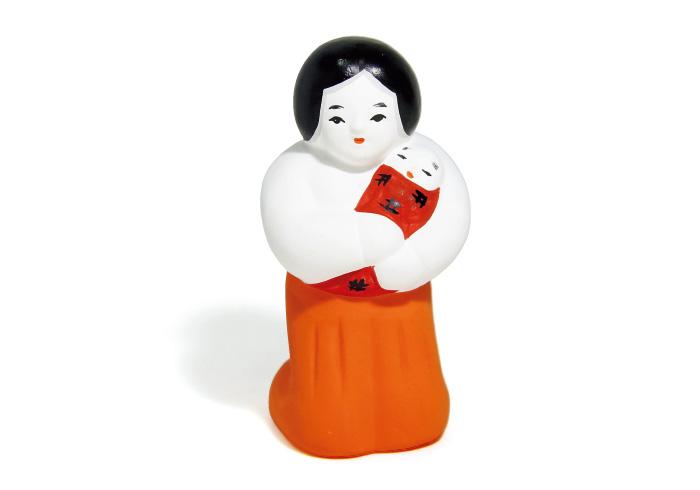 伝来人形2,000円(縣神社☎0774・21・3014)。
