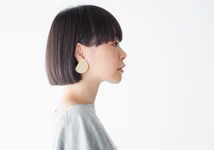 イヤリング ¥19,000(マユ/デミルクス ビームス 新宿☎03・5339・9070)