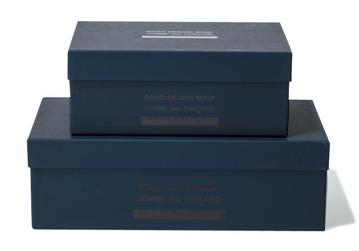 シューズボックス レディースサイズW32×H10.2×D17㎝¥2,700 キッズサイズ(W23.5×H9×D15.6㎝¥2,200(GOOD DESIGN SHOP)