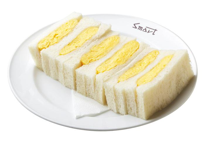 スマート珈琲店 タマゴサンドウィッチ
