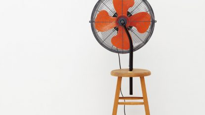 GELCHOPのレッツD.I.Y.「Ready-made /  Bicycle Fan」