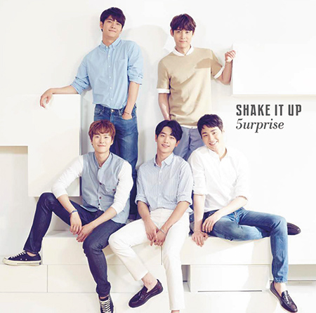 2nd Single『SHAKE IT UP』
