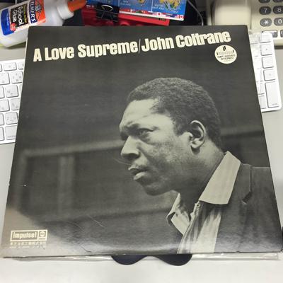 立川志の輔師匠が一番始めに買ったジャズ、ジョン・コルトレーンの『A Love Supreme』。若き日の師匠にはほろ苦い思い出が。