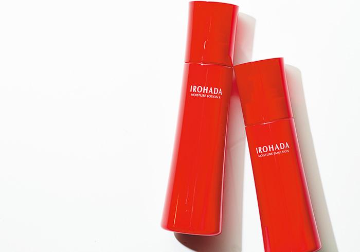 左・いろはだ化粧水 もっとしっとり 160㎖、右・同 美容乳液 110g各¥1,480*編集部調べ(ロート製薬☎06・6758・1272)