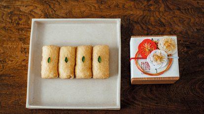 FOOD NEWS vol.125 真野知子のおいしいギフト 『日本料理 海木(かいぼく)』のだしいなり