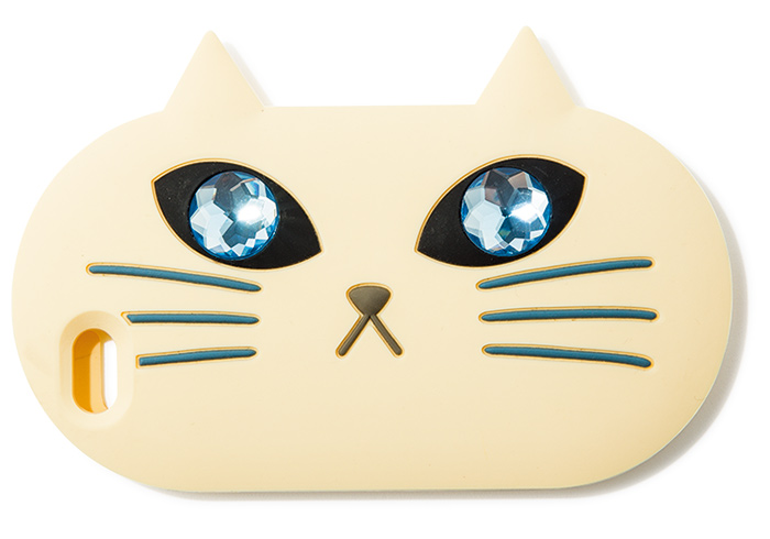 iPhoneケース 白¥4,000(アーバンリサーチ ドアーズ/アーバンリサーチ ドアーズ 銀座マロニエゲート店☎03・5524・6440)