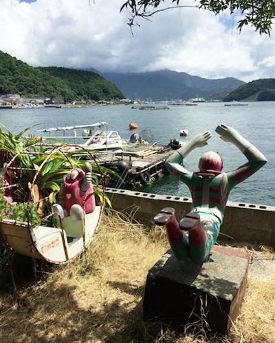 宇和島の風景。海がいいんだなぁこれが。