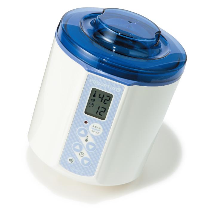 ヨーグルティアS YS-01B(ブルー) ¥10,000 タニカ電器☎0120・849・610 http://www.tanica.jp/yogurtia_s/