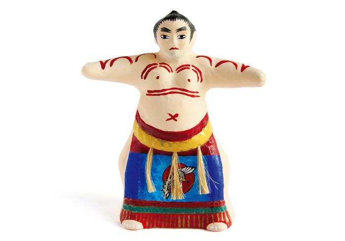宇土張子からあるモチーフの力士。3,000円。