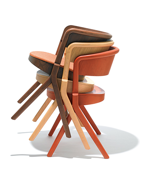 TAIYOU & C. stacking chair