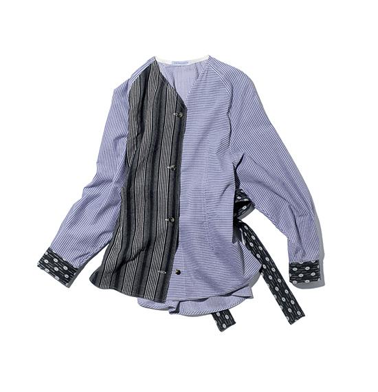 J.W. ANDERSON waist tie blouse