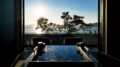 2017年、絶対に訪れたい、個性豊かな温泉宿4軒。 特集内容 No.204