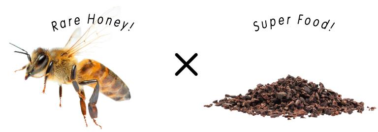 Rare Honey! 蜂蜜『万花蜜』× Super Food!『クリオロ種』カカオ
