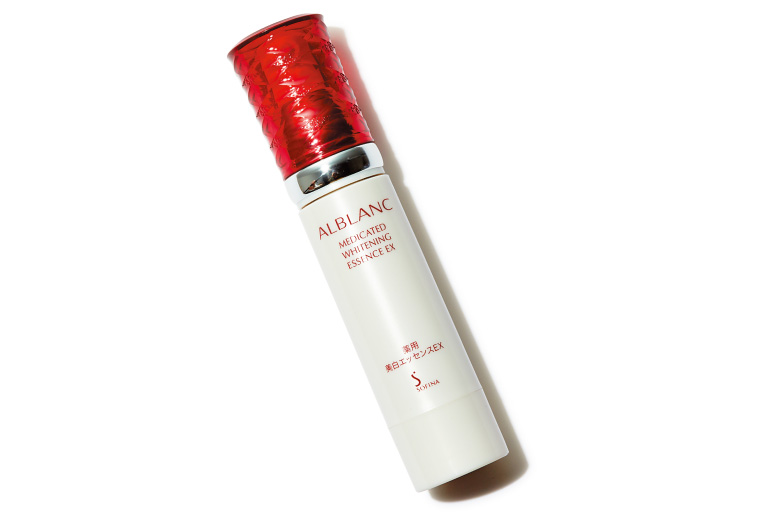 ソフィーナ アルブラン 薬用美白エッセンスEX 40g(医薬部外品)¥10,000(花王ソフィーナ☎0120・165・691)