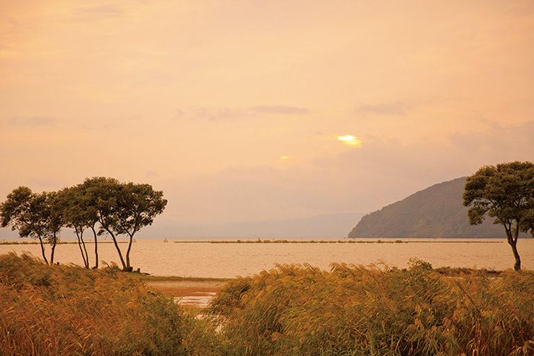 #奥琵琶湖 #まるで映画のワンシーン