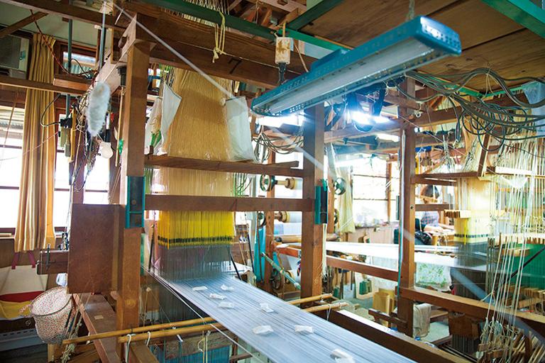 #手織機 #織師工場見学