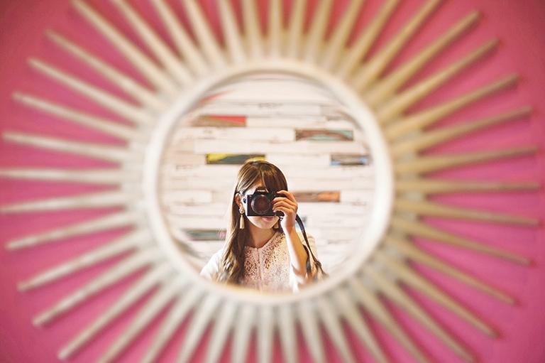 #部屋の鏡がかわいい #selfie