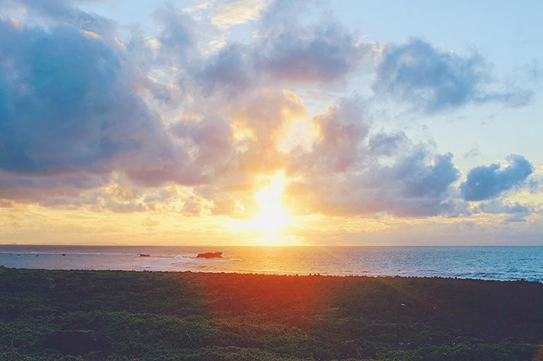 #残波岬 #sunset