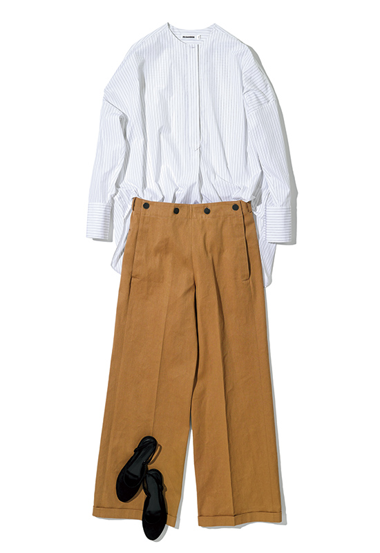 JIL SANDER shirt & pants style