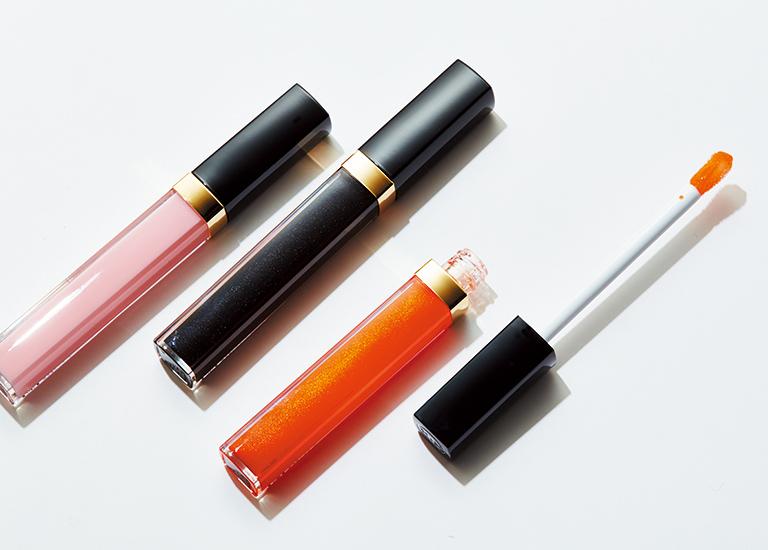 ルージュ ココ グロス(右から776、778、726)各¥3,600 3/17発売(シャネル☎0120・525・519)