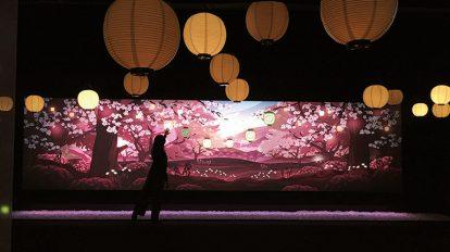 最新デジタルアートで日本食を知る! ハナコラボ