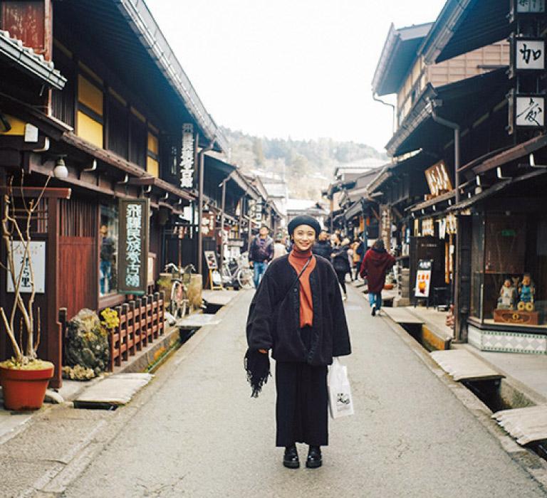 #飛騨高山 #古い町並み #女子旅