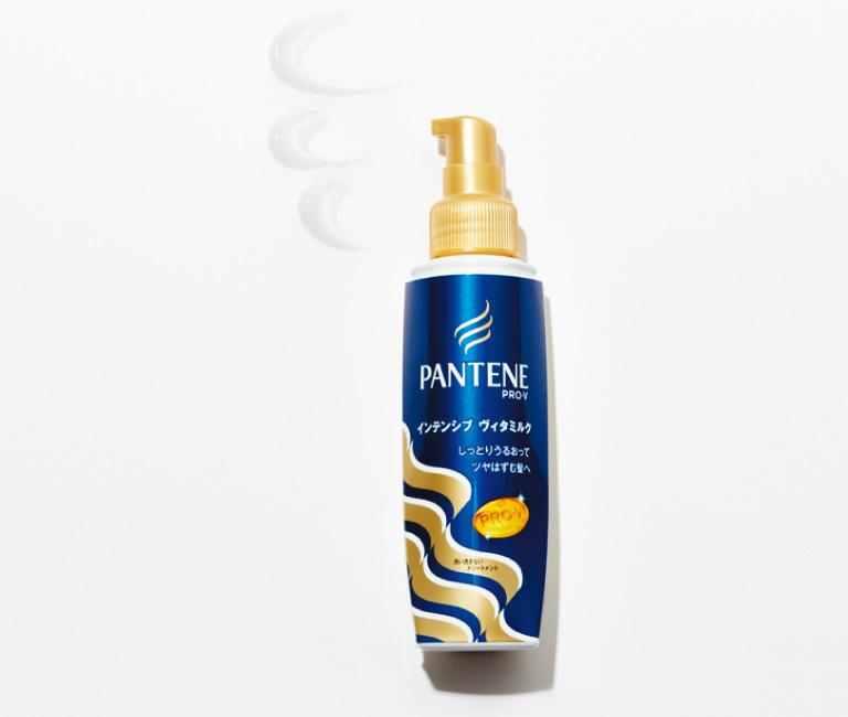 インテンシヴ ヴィタミルク パサついてまとまらない髪用 フルーティーフローラルの香り 100㎖¥838*編集部調べ 限定発売中(P&G☎0120・021327)