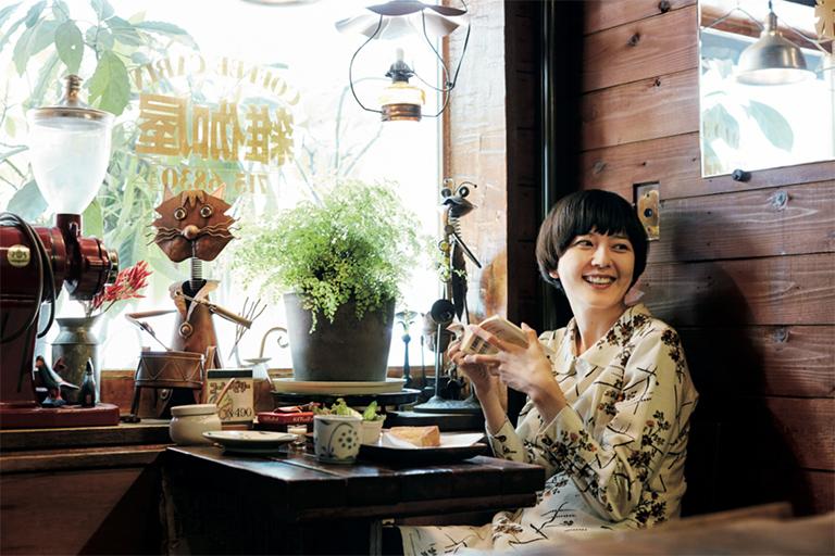 菊池亜希子の「好きよ、喫茶店」。