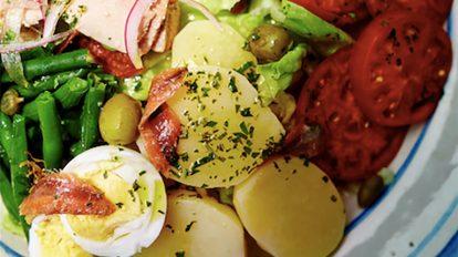 冷水さんの読むレシピ ニース風サラダ