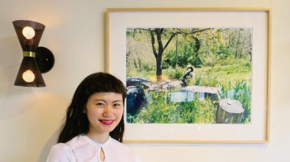 木寺紀雄写真展『INU』へ。 ハナコラボ