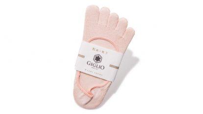 「GIGLIO フットカバー 5本指」ananカラダに良いものカタログ