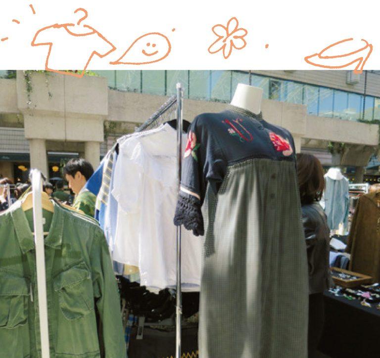 服やバッグ、帽子など、欲しかったデザインのものが見つかりそう。