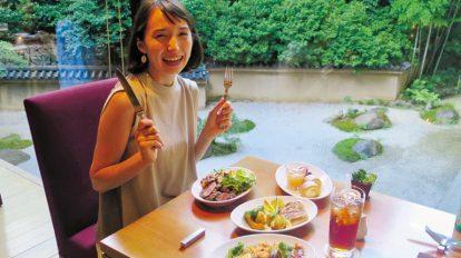夏休みは京都のホテルでBBQ! ハナコラボ