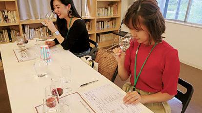 ワイナリーを巡り、日本ワインをお勉強。 ハナコラボ