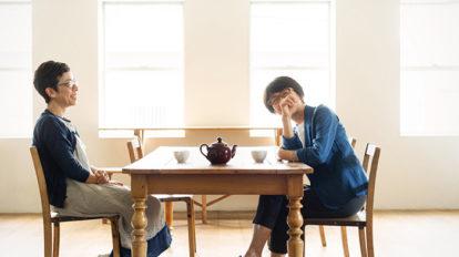 「料理家・飛田和緒さんと、菓子研究家・小黒きみえさんに対談をしていただきました。」編集部こぼれ話