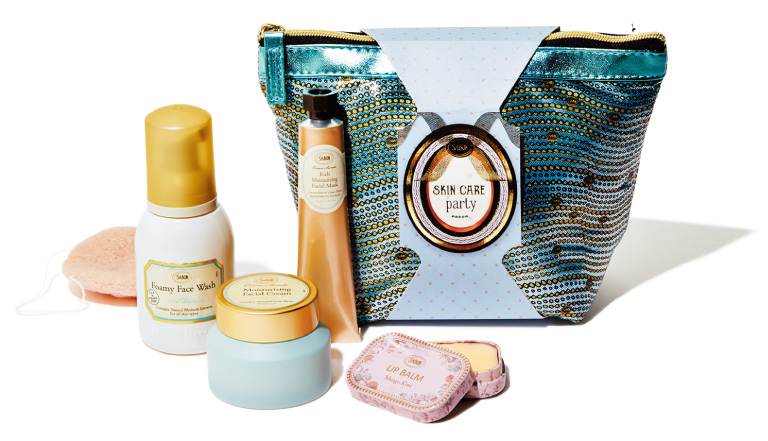 SKINCARE party¥7,500(SABON Japan☎0120・380・688)