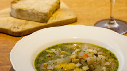 東京らしいグルメとは? 中野〈松㐂〉のスープとパンに感動。 From Editors No. 1146 フロム エディターズ 担当編集より