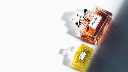 フランスのクチュールフレグランスと国内最高級ラインの化粧品ブランドのクリームファンデーショ …