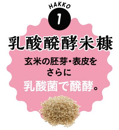 1.乳酸発酵米糠
